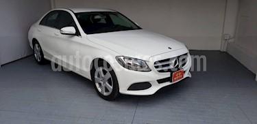 Foto venta Auto Seminuevo Mercedes Benz Clase C 180 CGI Aut (2015) color Blanco Calcita   precio $325,000