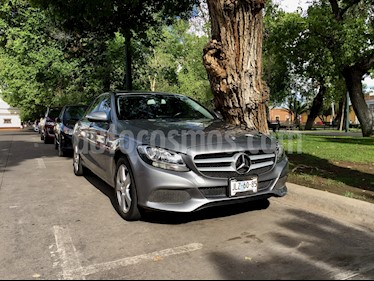 Foto venta Auto usado Mercedes Benz Clase C 180 CGI Coupe Aut (2015) color Gris Tenorita precio $345,000