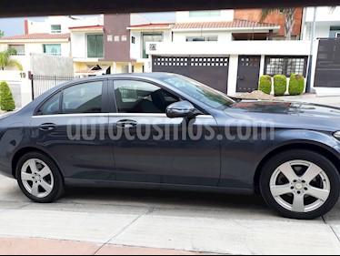 Foto venta Auto Seminuevo Mercedes Benz Clase C 180 CGI (2016) color Gris Tenorita precio $330,000