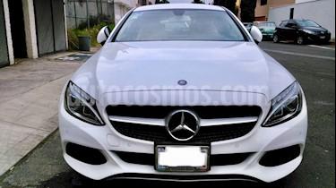Foto venta Auto Seminuevo Mercedes Benz Clase C 200 CGI Coupe Aut (2017) color Blanco Diamante precio $525,000