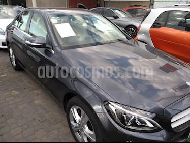 Foto venta Auto Seminuevo Mercedes Benz Clase C 200 CGI Exclusive Aut (2015) color Gris precio $310,000