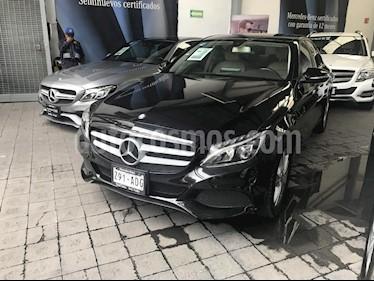 Foto venta Auto Usado Mercedes Benz Clase C 200 CGI Exclusive Aut (2015) color Negro precio $410,000
