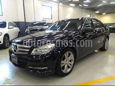 Foto venta Auto Seminuevo Mercedes Benz Clase C 200 CGI Exclusive Aut (2013) color Azul precio $235,000