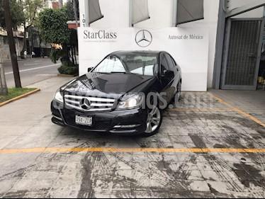 Foto venta Auto Seminuevo Mercedes Benz Clase C 200 CGI Exclusive Plus Aut (2014) color Gris precio $290,000