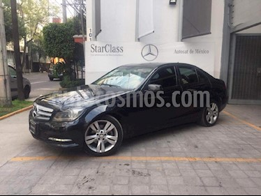Foto venta Auto usado Mercedes Benz Clase C 200 CGI Exclusive Plus Aut (2014) color Gris precio $290,000