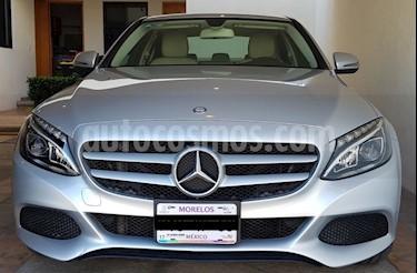 Foto venta Auto usado Mercedes Benz Clase C 200 CGI Exclusive (2016) color Plata Iridio precio $407,500