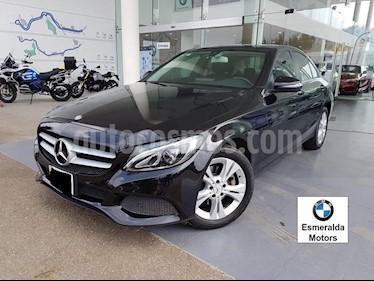 Foto venta Auto Seminuevo Mercedes Benz Clase C 200 CGI Exclusive (2016) color Negro precio $380,000
