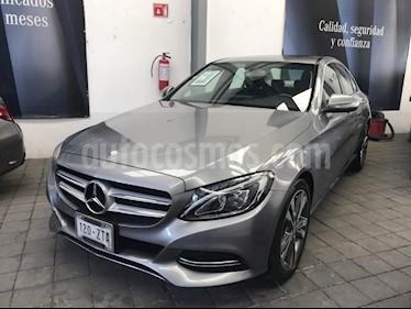 Foto venta Auto Usado Mercedes Benz Clase C 200 CGI Sport Aut (2015) color Gris precio $399,000