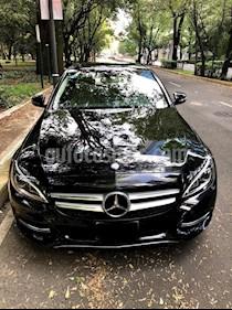 Foto venta Auto Seminuevo Mercedes Benz Clase C 200 CGI Sport Aut (2015) color Negro Obsidiana precio $400,000