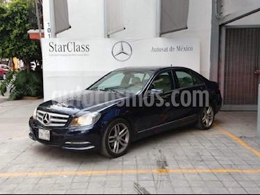 Foto venta Auto Usado Mercedes Benz Clase C 200 CGI Sport Aut (2013) color Azul precio $285,000