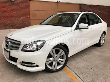 Foto venta Auto Usado Mercedes Benz Clase C 200 CGI Sport Aut (2014) color Blanco Calcita   precio $258,000