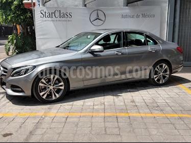 Foto venta Auto Seminuevo Mercedes Benz Clase C 200 CGI Sport Aut (2015) color Gris precio $395,000