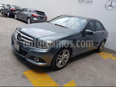 Foto venta Auto Seminuevo Mercedes Benz Clase C 200 CGI Sport Aut (2012) color Gris precio $245,000