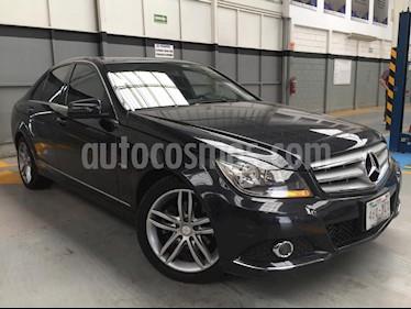Foto venta Auto Seminuevo Mercedes Benz Clase C 200 CGI Sport Aut (2012) color Gris precio $255,000
