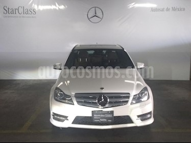 Foto venta Auto Seminuevo Mercedes Benz Clase C 200 CGI Sport Aut (2013) color Blanco precio $299,000