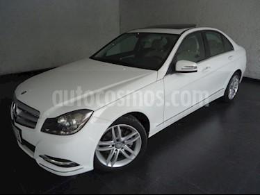 Foto venta Auto Seminuevo Mercedes Benz Clase C 200 CGI Sport Aut (2013) color Blanco Calcita   precio $250,000