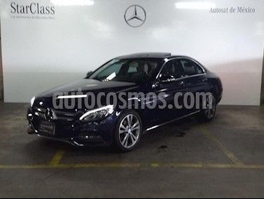 Foto venta Auto Seminuevo Mercedes Benz Clase C 200 CGI Sport Aut (2015) color Azul precio $349,000