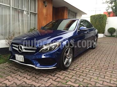Foto venta Auto Seminuevo Mercedes Benz Clase C 250 CGI Sport Aut (2015) color Azul Metalizado precio $400,000