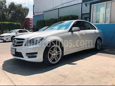 Foto venta Auto Seminuevo Mercedes Benz Clase C 250 CGI Sport Aut (2014) color Blanco Calcita   precio $350,000