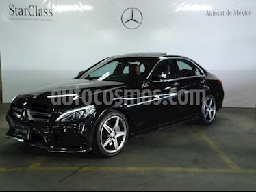 Foto venta Auto Usado Mercedes Benz Clase C 250 CGI Sport (2016) color Negro precio $489,000