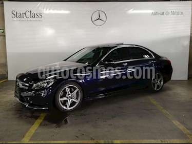 Foto venta Auto Seminuevo Mercedes Benz Clase C 250 CGI Sport (2018) color Azul precio $649,000
