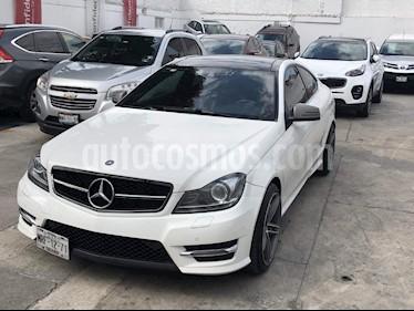 Foto venta Auto Seminuevo Mercedes Benz Clase C 350 CGI Coupe Aut (2014) color Blanco precio $409,000