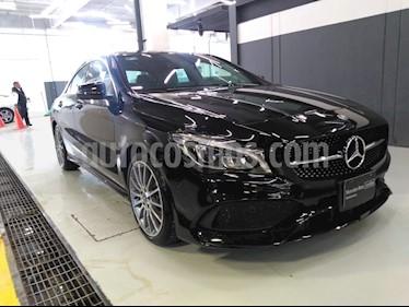 Foto venta Auto Usado Mercedes Benz Clase CLA 250 CGI Sport (2018) color Negro Cosmos precio $599,000
