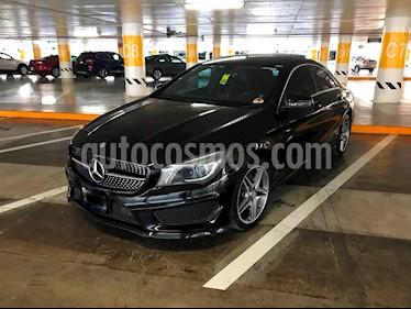 Foto venta Auto usado Mercedes Benz Clase CLA 250 CGI Sport (2014) color Negro Cosmos precio $370,000