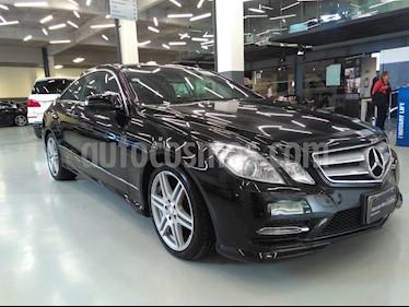 Foto venta Auto Usado Mercedes Benz Clase E Coupe 350 (2013) color Negro precio $388,000
