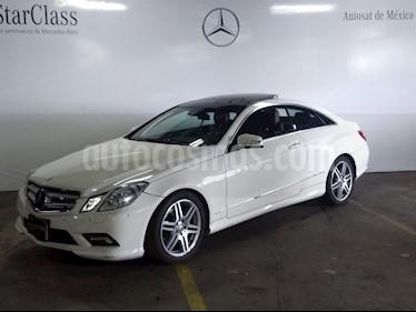 Foto venta Auto Seminuevo Mercedes Benz Clase E Coupe 350  (2011) color Blanco precio $299,000