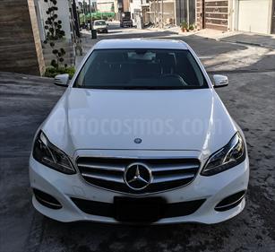 Foto venta Auto usado Mercedes Benz Clase E 200 CGI Avantgarde (2014) color Blanco precio $425,000