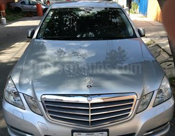 Mercedes Benz Clase E 200 CGI Exclusive usado (2013) color Plata Iridio precio $320,000