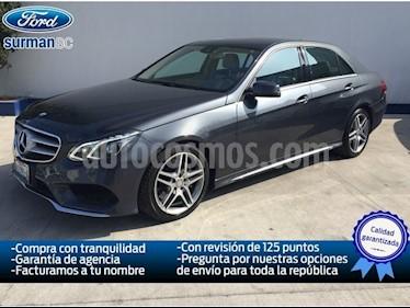 Foto venta Auto Usado Mercedes Benz Clase E 200 CGI Exclusive (2014) color Gris Mineral precio $480,000
