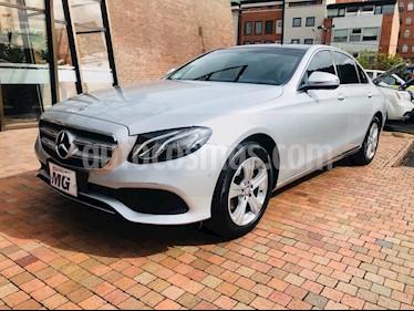 Mercedes Benz Clase E 200 CGI usado (2017) color Plata Diamante precio $118.900.000