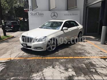 Foto venta Auto usado Mercedes Benz Clase E 250 Avantgarde (2011) color Blanco precio $265,000