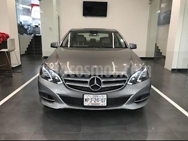 Foto venta Auto Usado Mercedes Benz Clase E 250 CGI Avantgarde (2014) color Gris precio $429,900