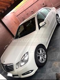 Foto venta Auto usado Mercedes Benz Clase E 300 Avantgarde (2010) color Blanco precio $300,000
