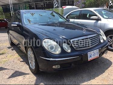 Foto venta Auto Seminuevo Mercedes Benz Clase E 320 Elegance V6 (2003) color Azul precio $145,000