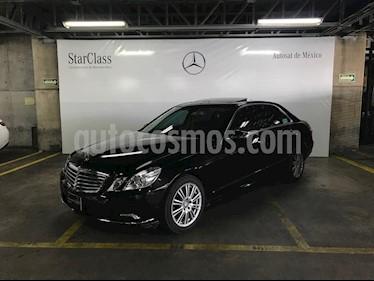 Foto venta Auto Seminuevo Mercedes Benz Clase E 350 Elegance (2010) color Negro precio $299,000