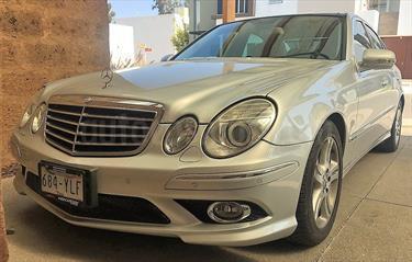 Foto venta Auto usado Mercedes Benz Clase E 500 Avantgarde (2008) color Plata Metalizado precio $235,000