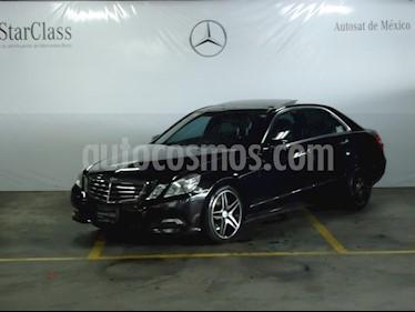 Foto venta Auto usado Mercedes Benz Clase E 500 Avantgarde (2010) color Negro precio $319,000