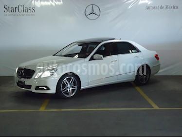 Foto venta Auto Seminuevo Mercedes Benz Clase E 500 Avantgarde (2010) color Blanco precio $449,000