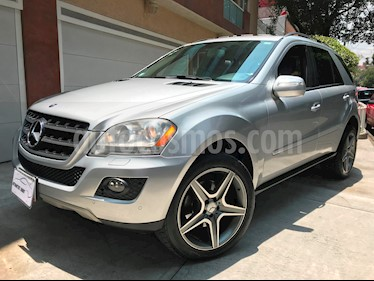 Foto venta Auto Usado Mercedes Benz Clase M ML 350 CGI Sport AMG (2009) color Plata Iridio precio $184,000