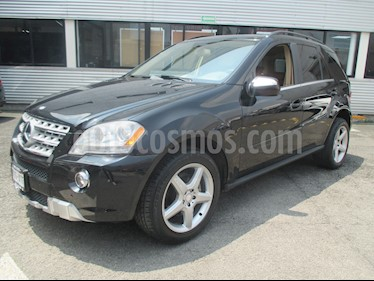 Foto venta Auto Seminuevo Mercedes Benz Clase M ML 350 CGI Sport AMG (2010) color Negro Obsidiana precio $248,000