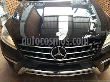 Foto venta Auto Seminuevo Mercedes Benz Clase M ML 350 CGI (2012) color Negro precio $430,000