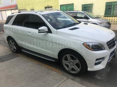 Foto venta Auto usado Mercedes Benz Clase M ML 350 Sport AMG Paq Confort (2015) color Blanco precio $575,000