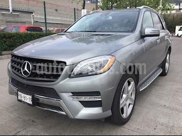 Foto venta Auto Usado Mercedes Benz Clase M ML 400 CGI Sport AMG (2015) color Gris precio $595,000