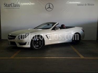Foto venta Auto Usado Mercedes Benz Clase SL 63 AMG Biturbo (2014) color Blanco precio $1,399,000