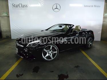 Foto venta Auto Usado Mercedes Benz Clase SLC 200 (2017) color Negro precio $679,000