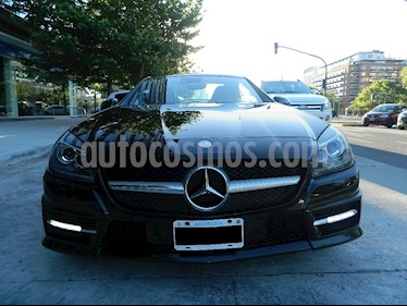 Foto venta Auto Usado Mercedes Benz Clase SLK 350 Blue Efficiency Sport (2015) color Negro Obsidienne precio u$s65.000